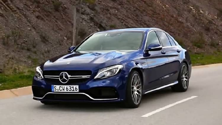 Xcar drives the Mercedes-AMG C63 S