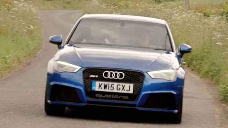 Xcar flogs the 2016 Audi RS3