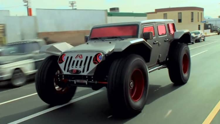 Jay Leno rides high in Fab Fours Legend