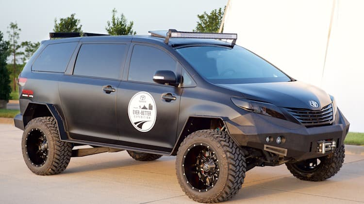 Toyota combines minivan with truck for Ultimate Utility Vehicle