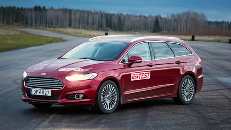 Swedish car mag says Ford Mondeo is dangerously, illegally overweight [w/video]