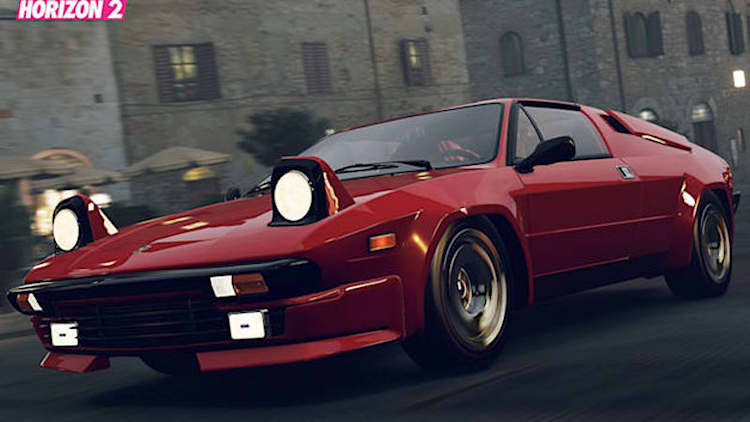 Forza Horizon 2's latest car pack includes Lamborghini Jalpa, Toyota 2000GT [w/video]