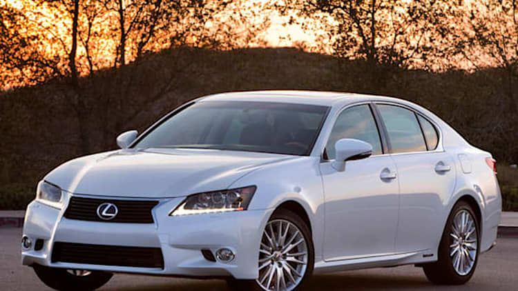 2015 Lexus GS 450h also getting F Sport treatment