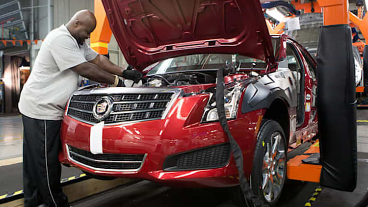 GM laying off 510 amidst slow Cadillac, small car sales