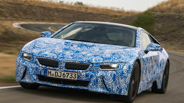2015 BMW i8 Prototype