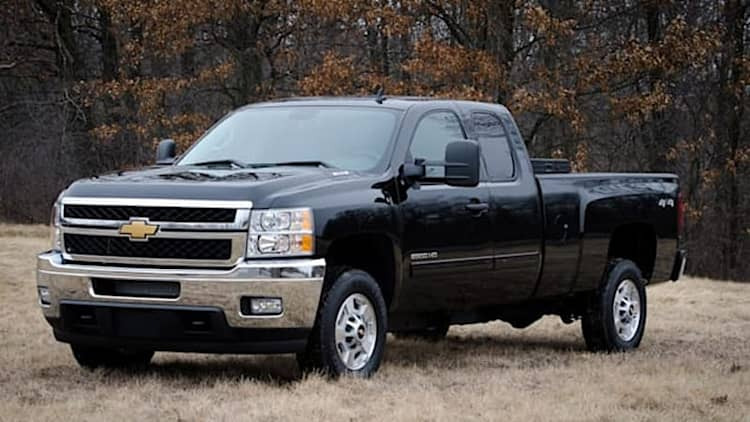 GM recalling Silverado and Sierra HD diesel pickups over fuel gauge follies