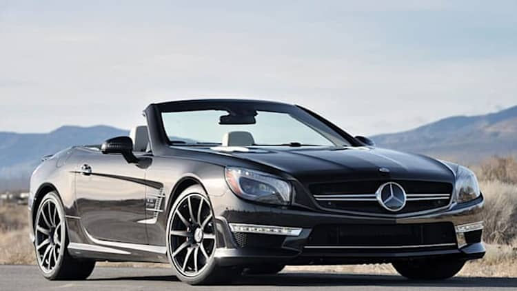 Mercedes recalls 2013 SL models over airbag fault
