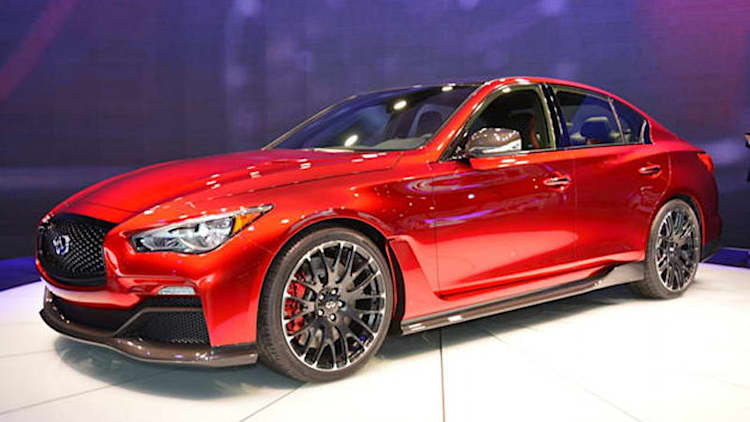 Infiniti Q50 Eau Rouge Concept could be something special