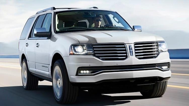 2015 Lincoln Navigator puts on a brave face, offers EcoBoost V6 only