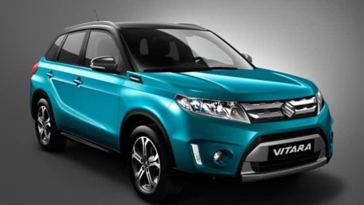 Suzuki Vitara shows its face ahead of Paris debut