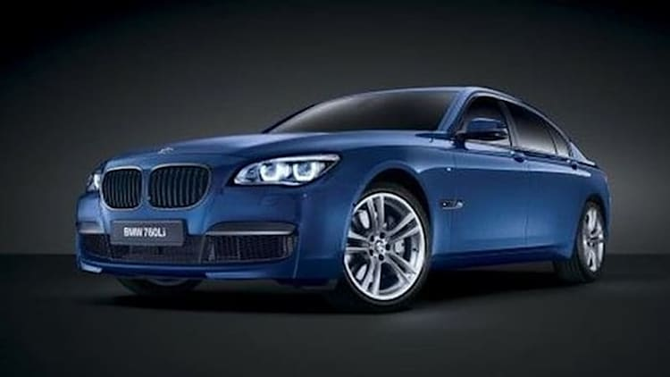 Special edition BMW 760Li V12 M Bi-Turbo headed for MIddle East