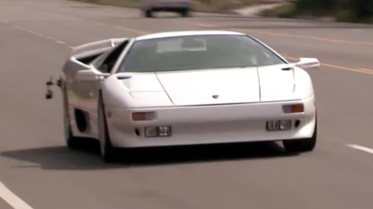 Leno stretches Lamborghini Diablo's legs for latest Garage installment