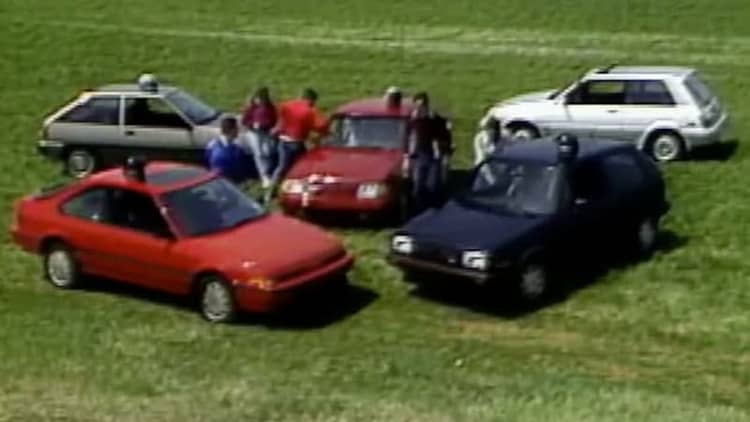 Motorweek goes retro with '80s hot hatch shootout