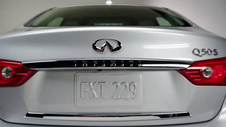 Infiniti explains Q naming scheme in new video