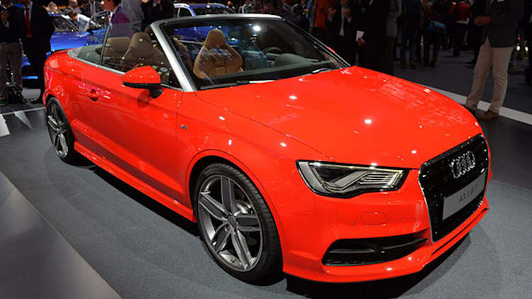 2014 Audi A3 Cabriolet cleans up the Messe [w/video]
