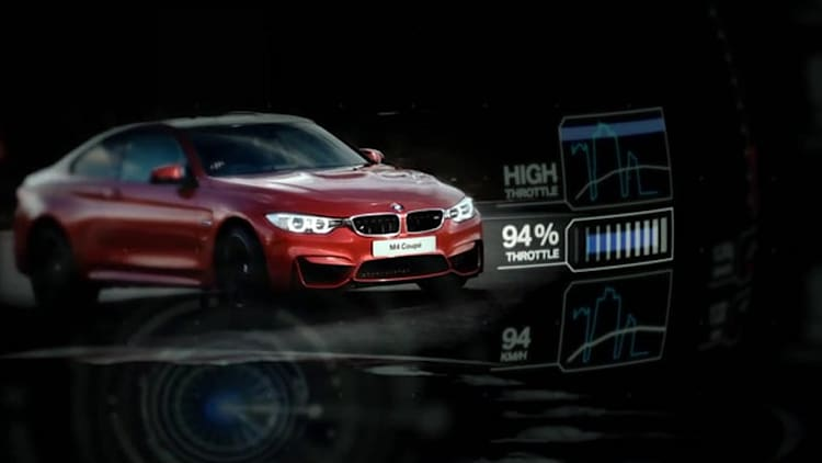 BMW tests M Lap Timer App with M4 Coupe at Brands Hatch