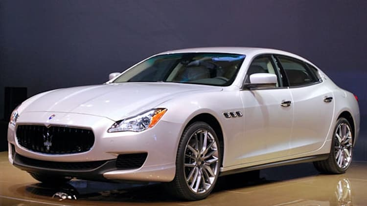 Maserati calling in new Quattroporte for electrical issue