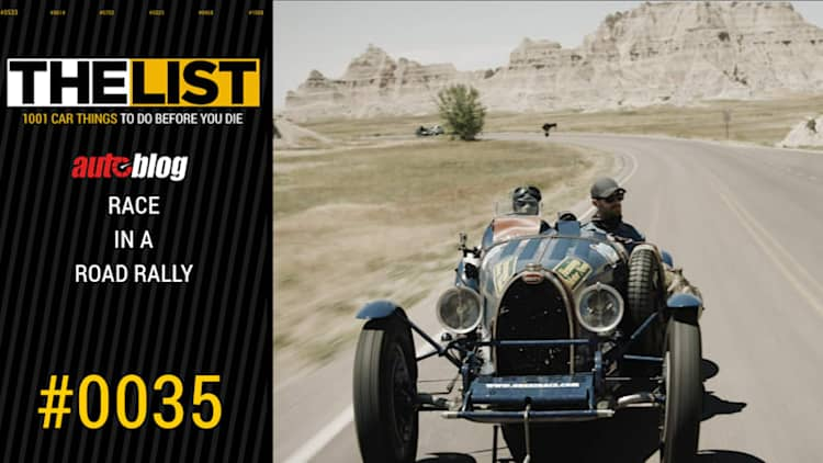 Race in a road rally | The List #0035