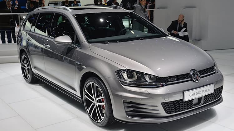 Volkswagen Golf GTD Variant burns the oil long and fast