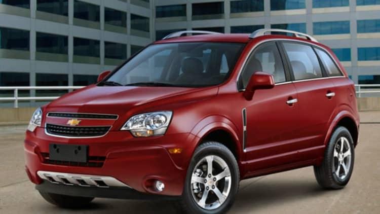 GM nixes fleet-only Chevy Captiva Sport