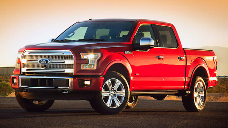 Ford recalling 12,300 2015 F-150 pickups