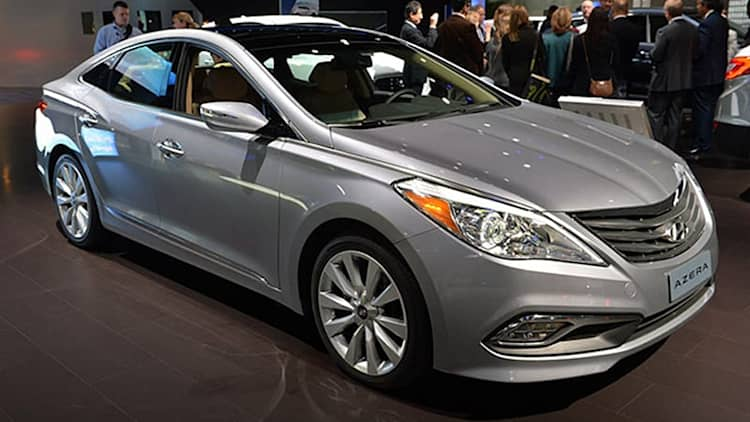 2015 Hyundai Azera is refreshed, may still be on life support