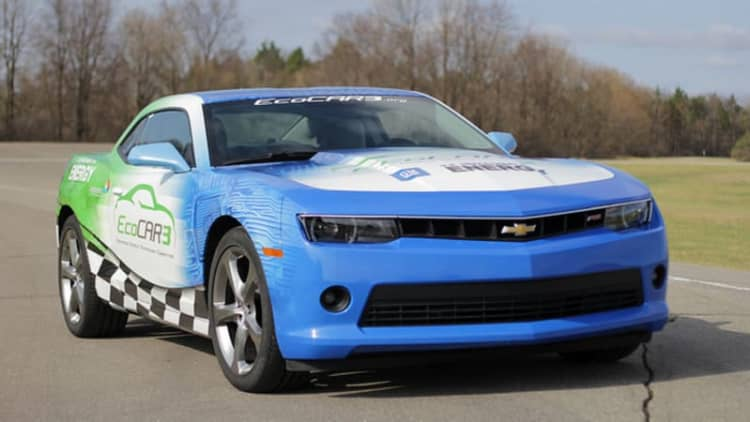 A Chevy Camaro hybrid? That's what EcoCAR3 could bring