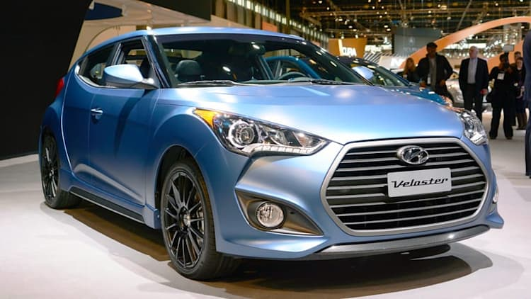 2016 Hyundai Veloster Turbo gets 7-speed DCT, Rally Edition model