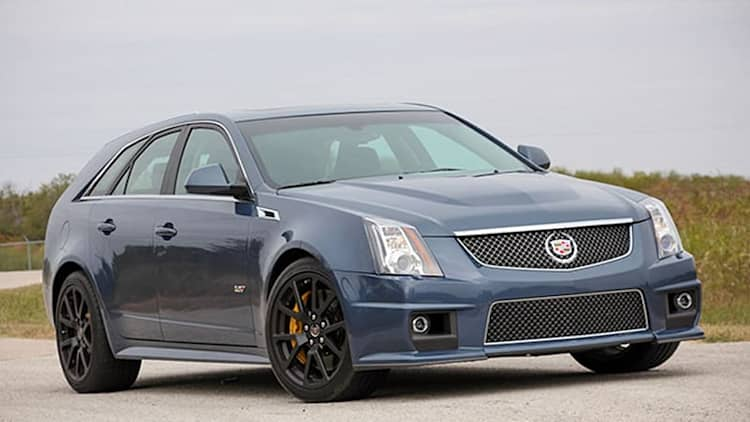 Such Sweet Sorrow: Cadillac's CTS-V gets an Irish wake