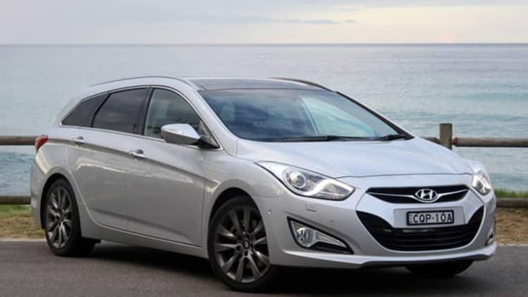 2014 Hyundai i40 Tourer / Sonata wagon