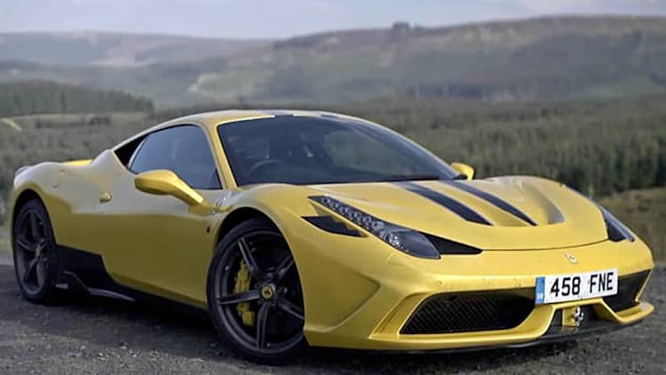 EVO dubs Ferrari 458 Speciale its Car of the Year