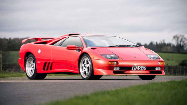 Last Lamborghini Diablo of the 20th century heads to auction
