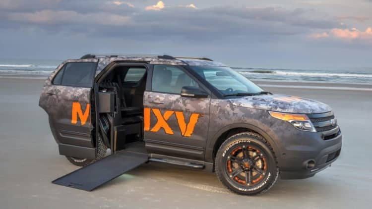 Ford and BraunAbility team up for wheelchair-accessible Explorer