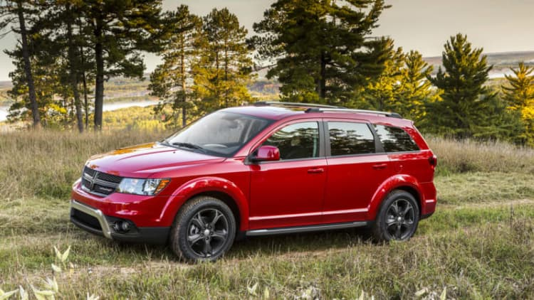 Dodge Journey and Fiat Freemont engine-cover recall affects 350k CUVs