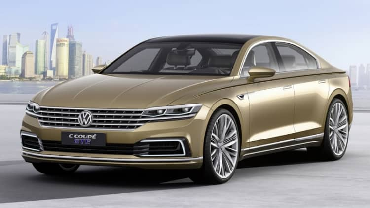 Volkswagen C Coupe GTE bows in Shanghai