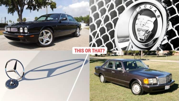 This or That: Mercedes S-Class 350SD vs. 2003 Jaguar XJR [w/poll]