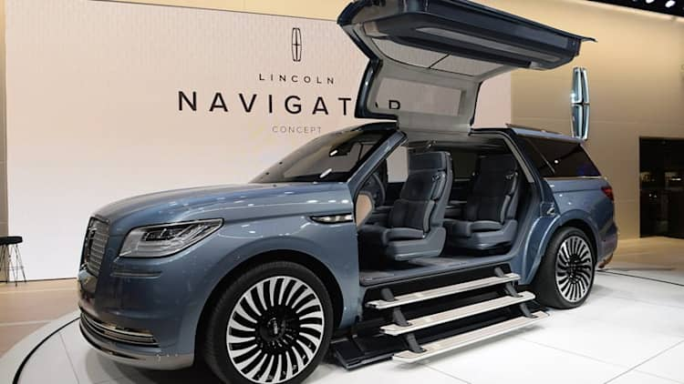 Lincoln reignites the Navigator with bold concept
