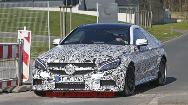 2017 Mercedes-AMG C63 Coupe looks quick, mean