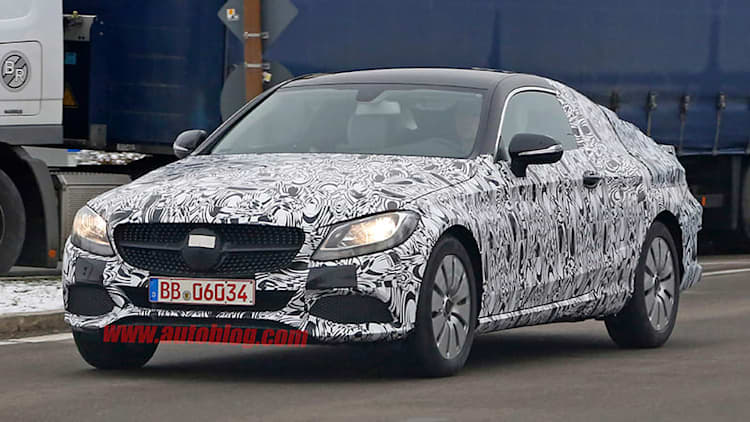 Mercedes C-Class Coupe to debut in Frankfurt