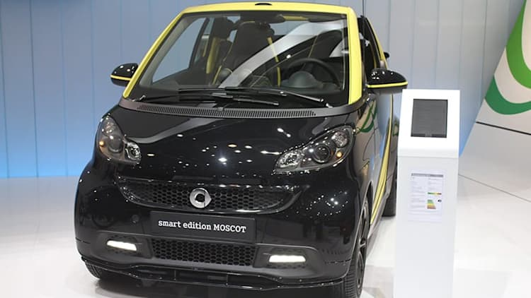 Smart Fortwo Edition Moscot is a strange collaboration