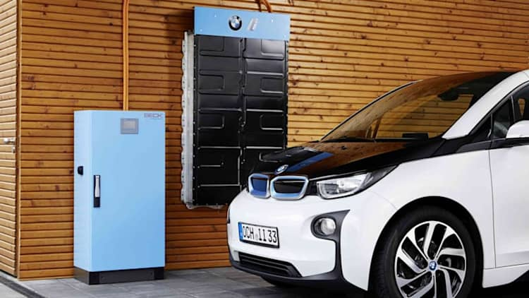 BMW i introduces home energy storage using i3 batteries