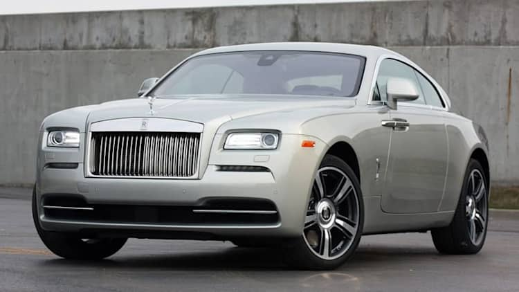 I got to see the Rolls-Royce Dawn