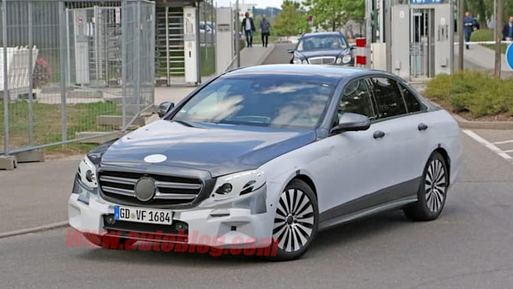 New Mercedes E-Class nearly exposed, may be Maybach