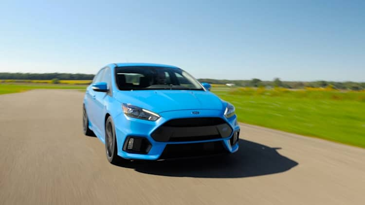 Does the Ford Focus RS live up to the hype? We took it to the track to find out