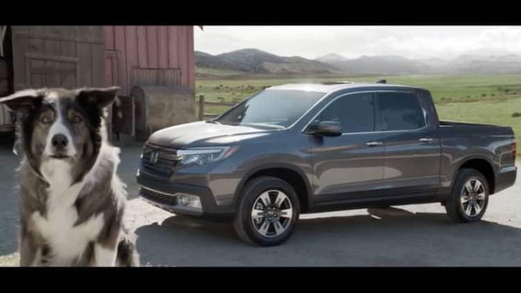 In Honda Super Bowl ad, Ridgeline teaches sheep to sing