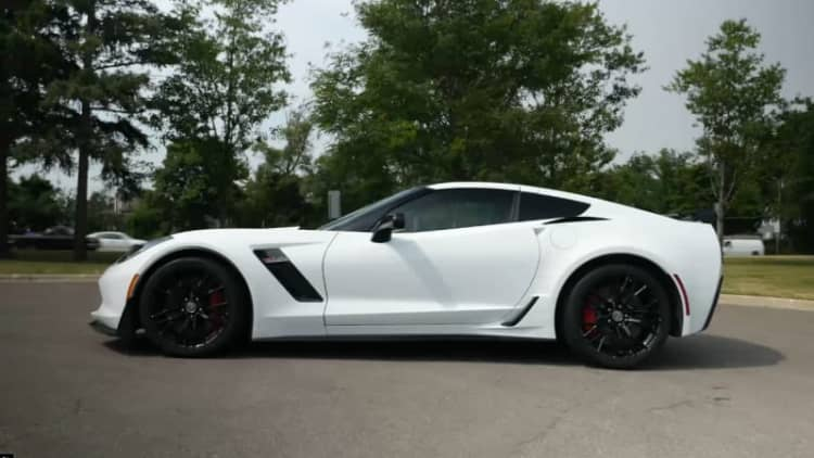 2015 Chevrolet Corvette Z06 Beauty Roll