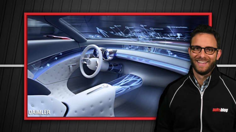 Volvo partners with Uber, Cadillac and Mercedes debut concepts | Autoblog Minute