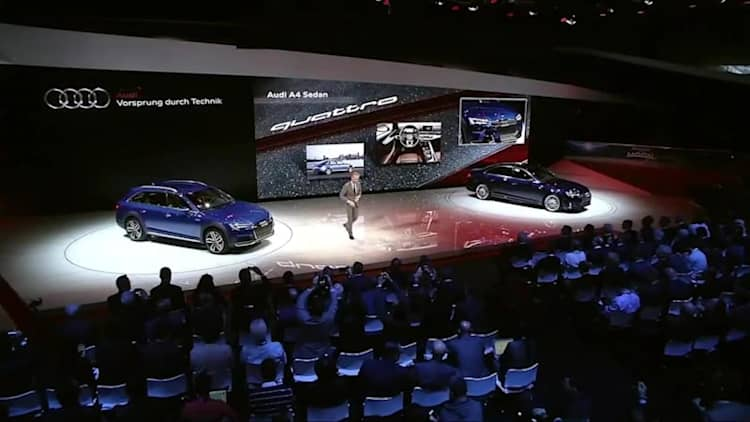 Audi Press Conference | 2016 NAIAS Live