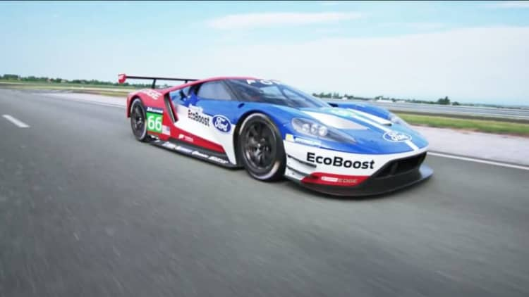 Xcar gets the scoop on Ford's strategy for the GT at Le Mans in 2016