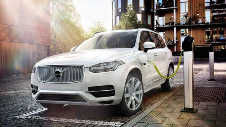 Volvo's new XC90 SUV plug-in hybrid gets 112 mpge
